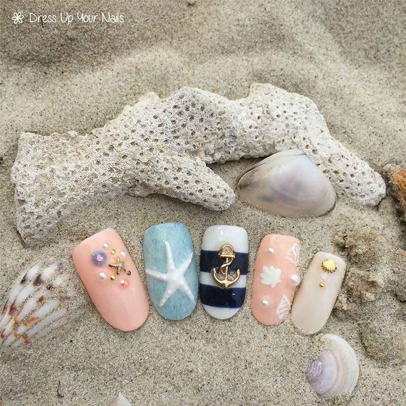 Ocean Nails Summer Holiday Beach Vacation 1
