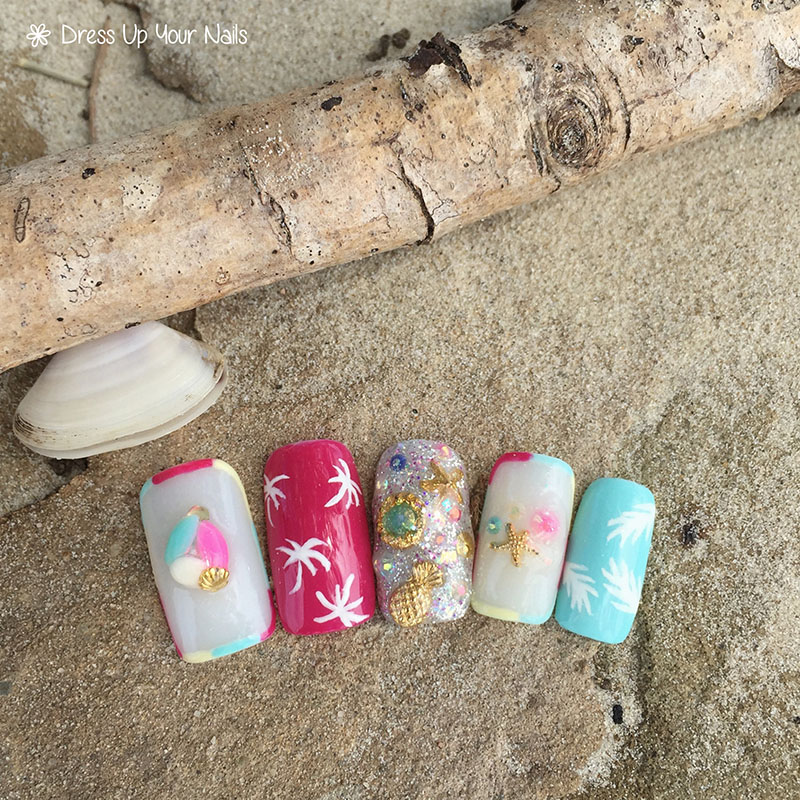 Ocean Nails Summer Holiday Beach Vacation 10