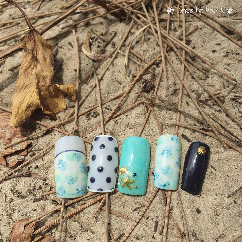 Ocean Nails Summer Holiday Beach Vacation 11