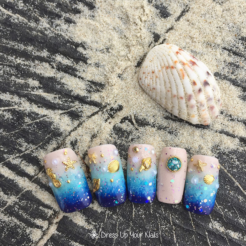 Ocean Nails Summer Holiday Beach Vacation 2