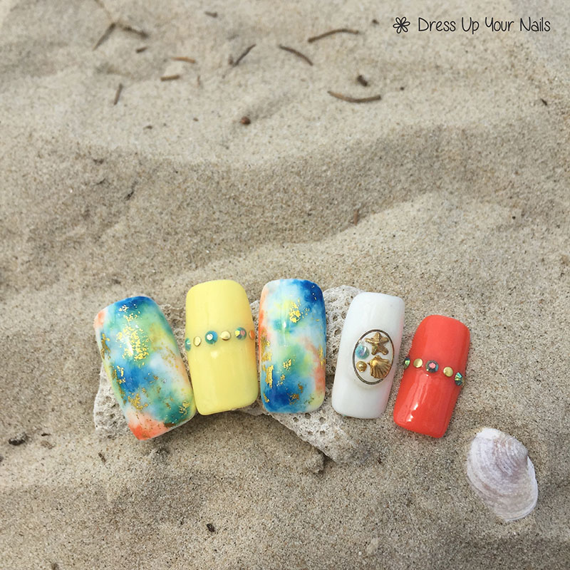 Ocean Nails Summer Holiday Beach Vacation 4