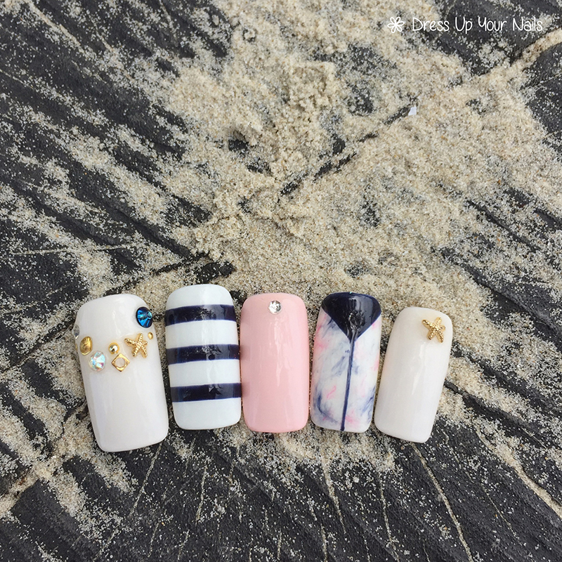 Ocean Nails Summer Holiday Beach Vacation 5