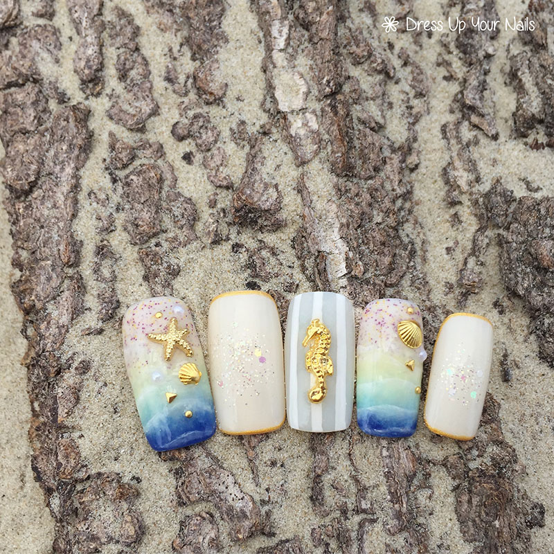 Ocean Nails Summer Holiday Beach Vacation 7