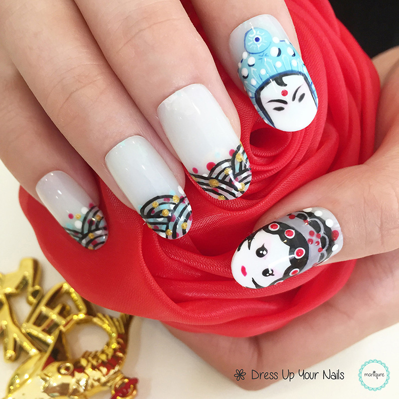 Chinese New Year Nails - CNY Manicure 10