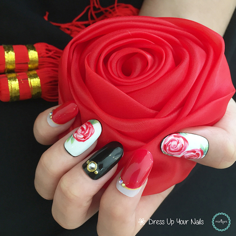 Chinese New Year Nails - CNY Manicure 11