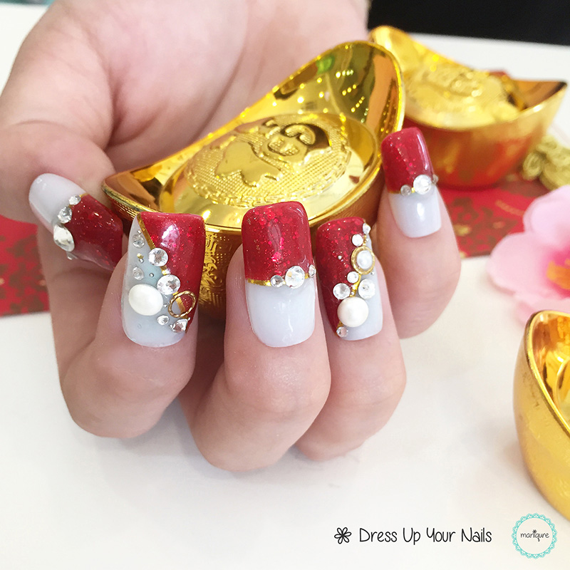 Chinese New Year Nails - CNY Manicure 13