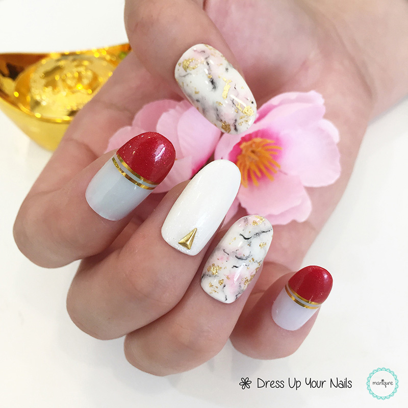 Chinese New Year Nails - CNY Manicure 14