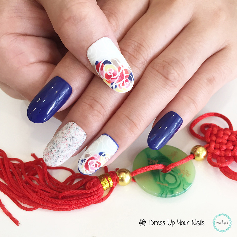 Chinese New Year Nails - CNY Manicure 5