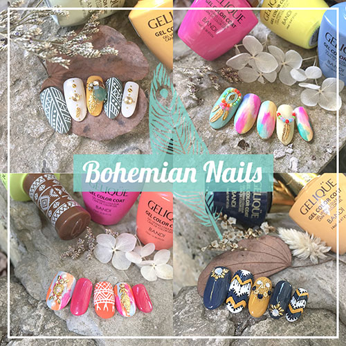 Bohemian Nails - Ethnic Tribal Manicure