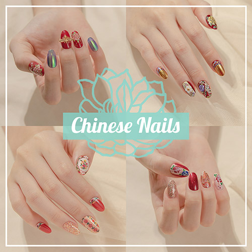 Chinese Nails - Press-on Manicure