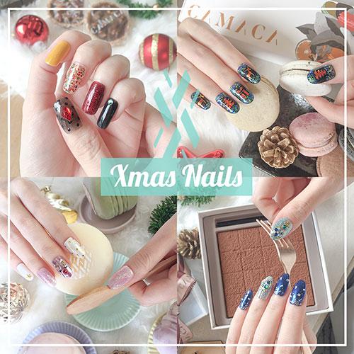 Christmas Nails - Festival Manicure