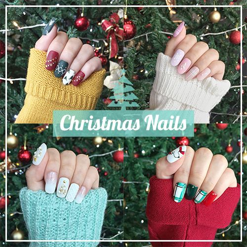 Christmas Nails - Holiday Manicure