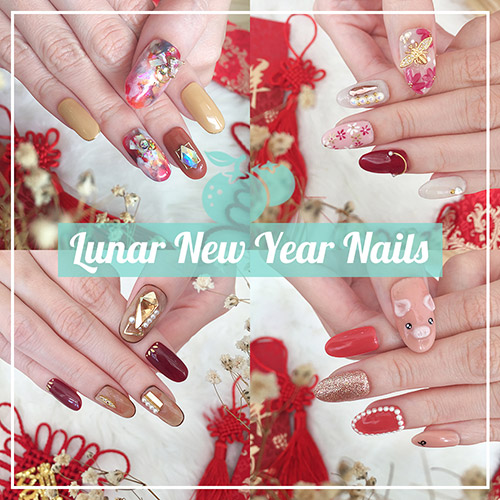 CNY Nails - Lunar New Year Manicure