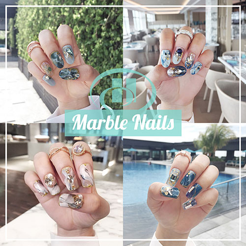 Marble Nails - The Luxury Manicure