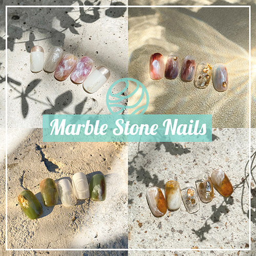 Marble Stone Nails