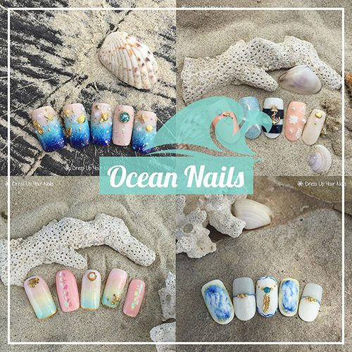Ocean Nails for Summer Holiday