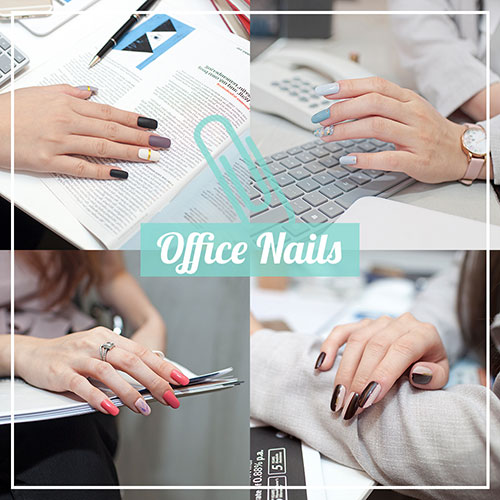 Office Nails - Work Appropriate Manicure