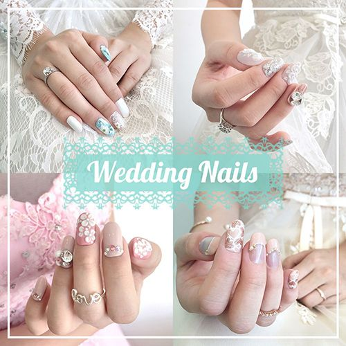 Wedding Nails 2017 for Bride