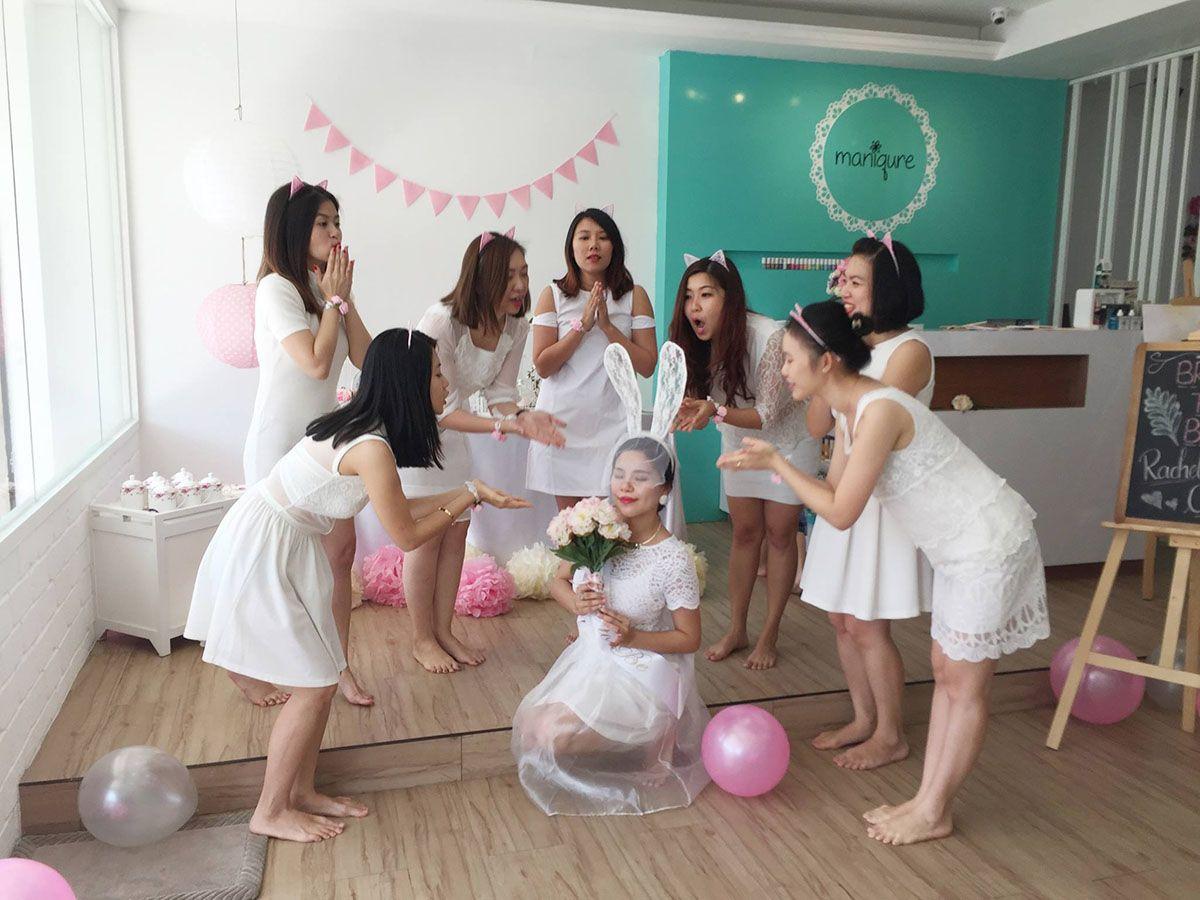 bridal shower pink theme kota kinabalu sabah malaysia