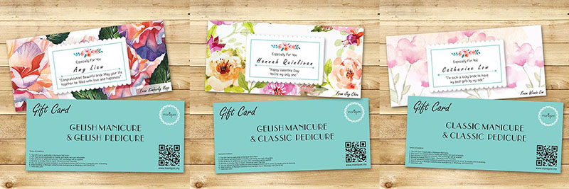 Maniqure Nail Services Gift Card