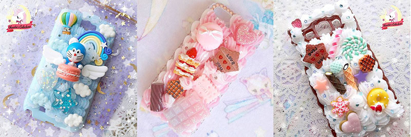 Wasabie's Collections Handmade Phone Casing